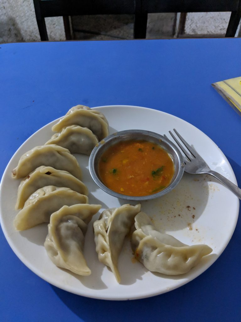 Authentic Nepalese momo