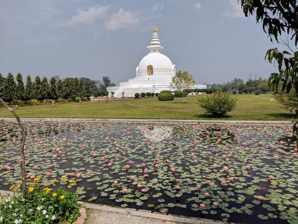 World Peace Pagoda - Lumbini