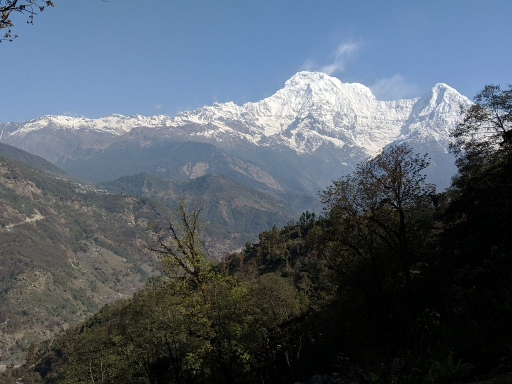 Annapurna from Tolka