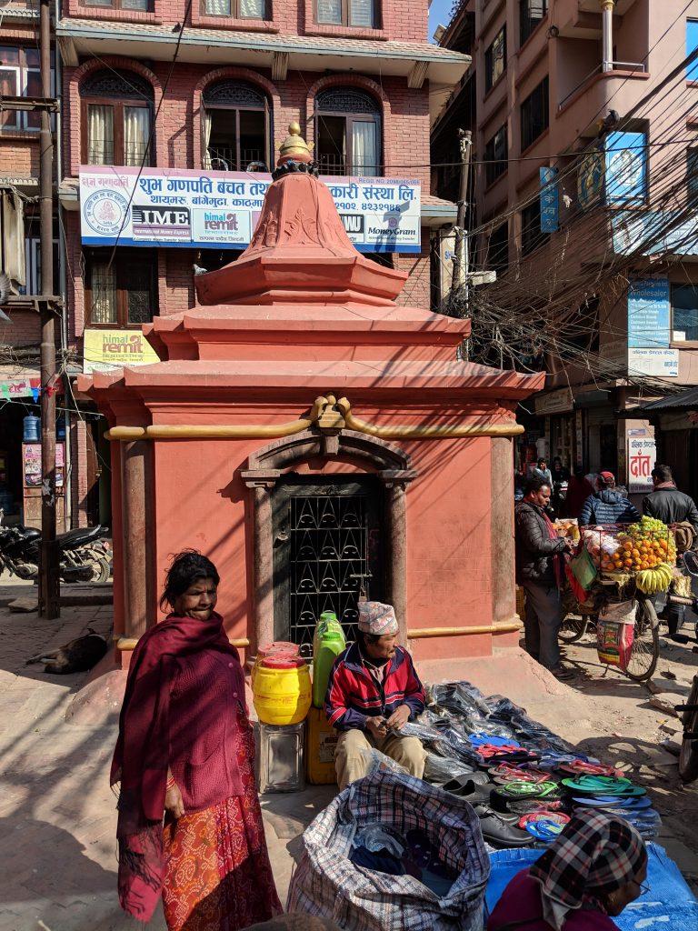 Bangemudha Chowk - Kathmandu