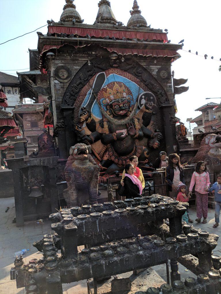 Hindu God of Karma