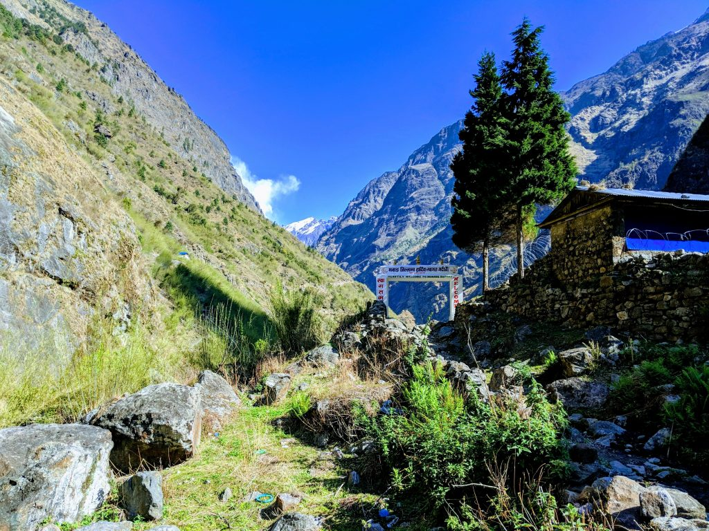 Gate to Manang