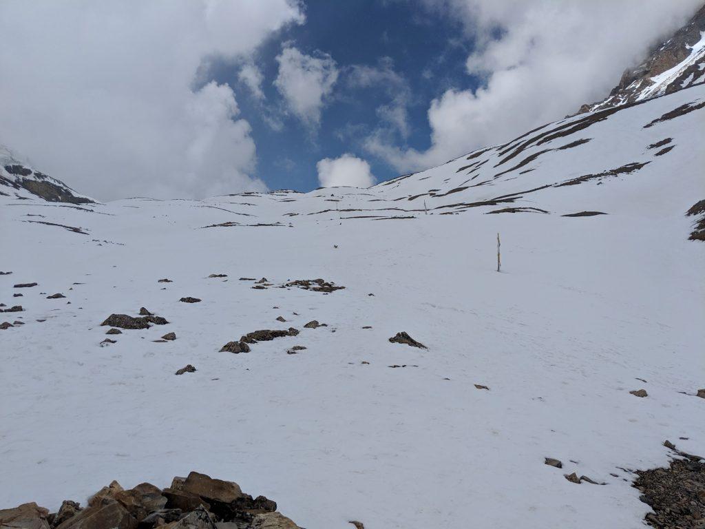 Ascending Thalong La - Himalayas