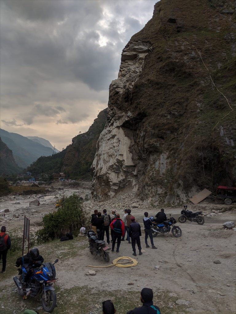 Just outside Tadopani - Annapurna Circuit Trek