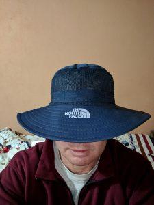 Brimmed hiking hat