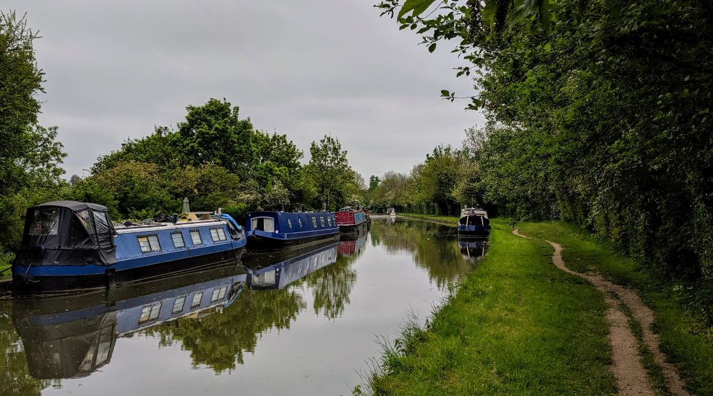 Grand Union Canal - Weedon Bec