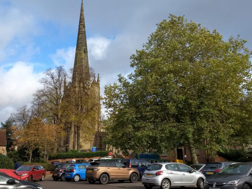 St. Mary's church, Hinckley