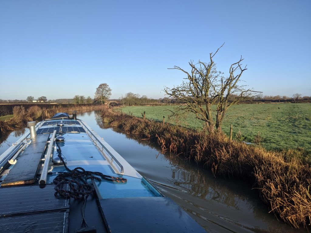 Approaching Congerstone on the Ashby canal
