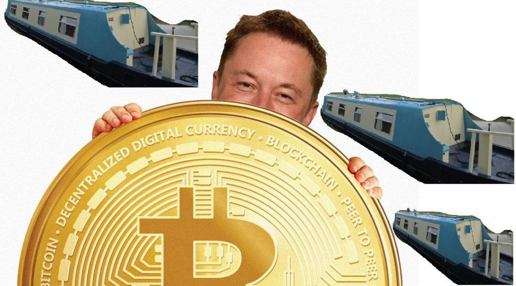 bitcoin elon musk boat