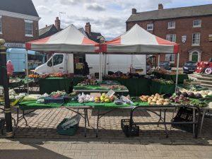 Market square - Bosworth