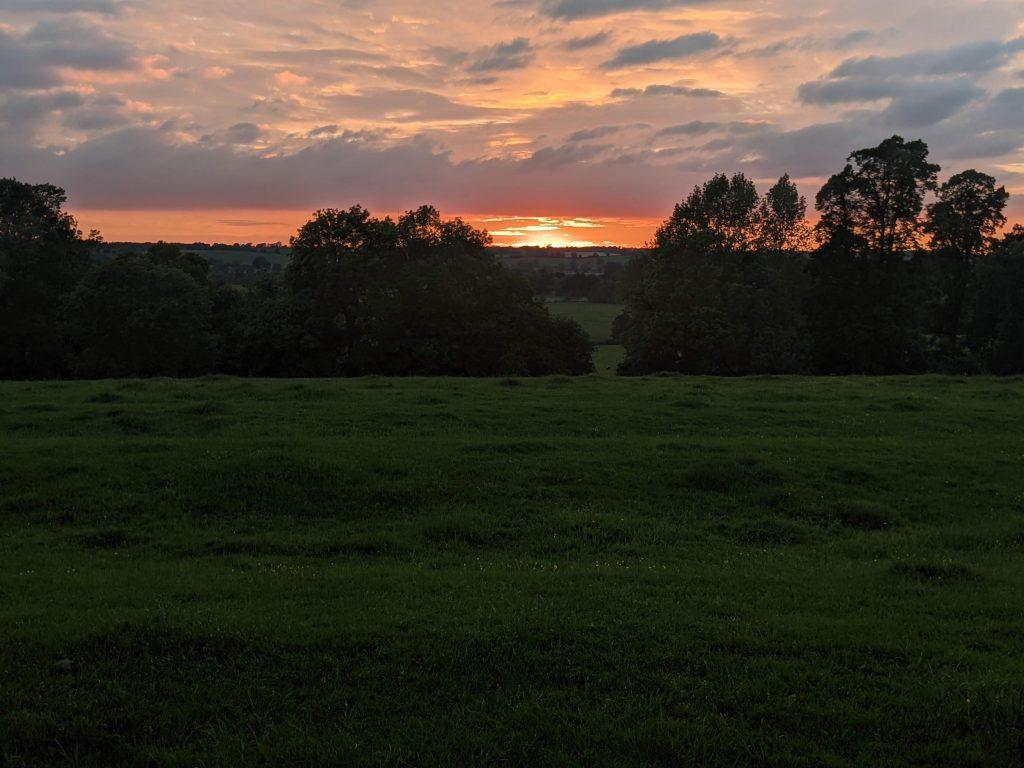 A view over Cropredy, Oxfordshire