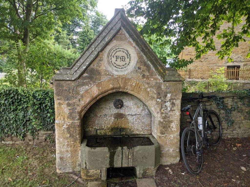 North Aston water fountain
