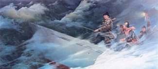 kim-jong-il-propaganda-posters-04-protecting-the-seas-560x244_6575215651_l.jpg