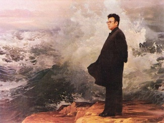 kim-jong-il-propaganda-posters-05-determination-beside-waves-560x420_6575215767_l.jpg