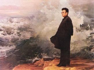 kim-jong-il-propaganda-posters-05-determination-beside-waves-560x420_6575215767_l.jpg