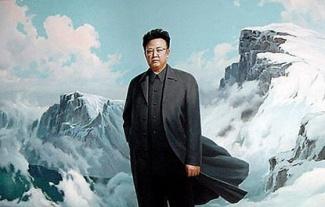 kim-jong-il-propaganda-posters-09-snowy-mountains-560x356_6575216221_l.jpg